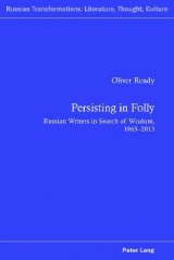 Omslag - Persisting in Folly