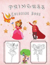 Omslag - Princess Coloring Book