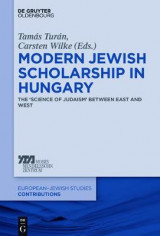 Omslag - Modern Jewish Scholarship in Hungary