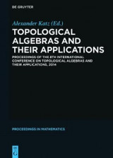 Omslag - Topological Algebras and their Applications