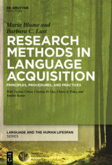 Omslag - Research Methods in Language Acquisition