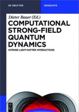 Omslag - Computational Strong-Field Quantum Dynamics