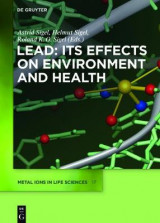 Omslag - Lead - its Effects on Environment and Health