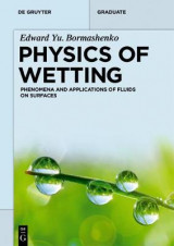 Omslag - Physics of Wetting
