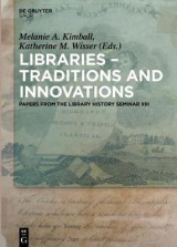 Omslag - Libraries - Traditions and Innovations: No. XIII