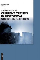 Omslag - Current Trends in Historical Sociolinguistics