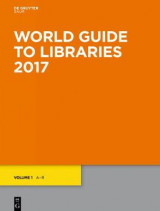 Omslag - World Guide to Libraries 2017