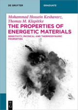 Omslag - The Properties of Energetic Materials