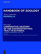 Omslag - Comparative Anatomy of the Gastrointestinal Tract in Eutheria I