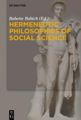 Omslag - Hermeneutic Philosophies of Social Science