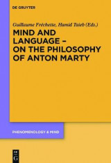 Omslag - Mind and Language - On the Philosophy of Anton Marty