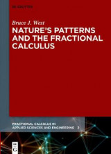 Omslag - Nature's Patterns and the Fractional Calculus