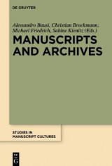 Omslag - Manuscripts and Archives