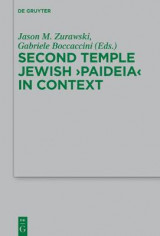 Omslag - Second Temple Jewish 'Paideia' in Context