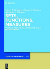 Omslag - Fundamentals of Functions and Measure Theory