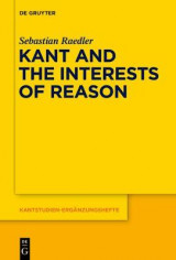Omslag - Kant and the Interests of Reason