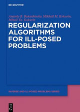 Omslag - Regularization Algorithms for Ill-Posed Problems