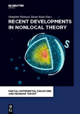 Omslag - Recent Developments in Nonlocal Theory