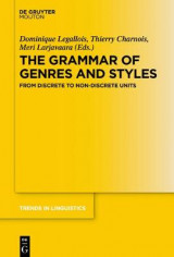 Omslag - The Grammar of Genres and Styles