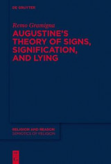 Omslag - Augustine's Theory of Signs, Signification, and Lying