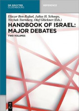 Omslag - Handbook of Israel: Major Debates