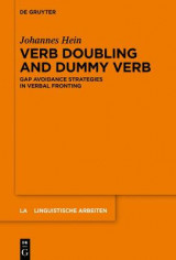 Omslag - Verb Doubling and Dummy Verb