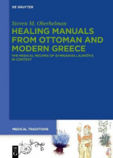 Omslag - Healing Manuals from Ottoman and Modern Greece