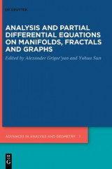 Omslag - Analysis and Partial Differential Equations on Manifolds, Fractals and Graphs