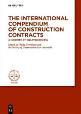 Omslag - The International Compendium of Construction Contracts