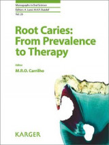 Omslag - Root Caries: From Prevalence to Therapy