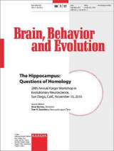 Omslag - The Hippocampus: Questions of Homology
