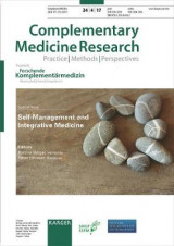 Omslag - Self-Management and Integrative Medicine