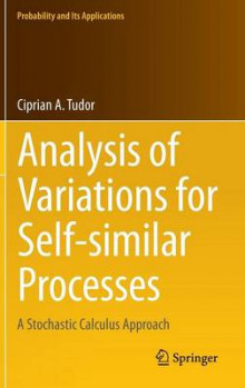 Analysis of Variations for Self-Similar Processes av Ciprian A. Tudor (Innbundet)
