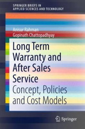 Long Term Warranty and After Sales Service av Gopinath Chattopadhyay og Anisur Rahman (Heftet)