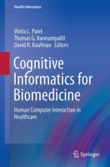 Omslag - Cognitive Informatics in Health and Biomedicine 2015