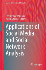 Omslag - Applications of Social Media and Social Network Analysis