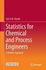Omslag - Statistics for Chemical and Process Engineers 2015