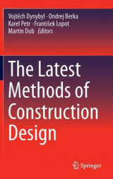 Omslag - The Latest Methods of Construction Design 2016