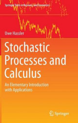 Omslag - Stochastic Processes and Calculus 2016