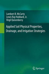 Omslag - Applied Soil Physical Properties, Drainage, and Irrigation Strategies 2016