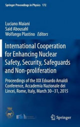 Omslag - International Cooperation for Enhancing Nuclear Safety, Security, Safeguards and Non-Proliferation 2016