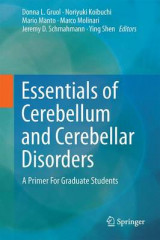 Omslag - Essentials of Cerebellum and Cerebellar Disorders 2016