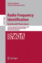Omslag - Radio Frequency Identification 2015