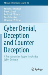 Omslag - Cyber Denial, Deception and Counter Deception 2015