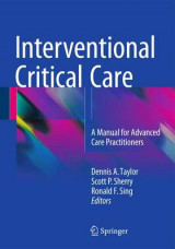 Omslag - Interventional Critical Care 2016