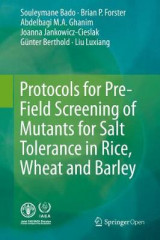 Omslag - Protocols for Pre-Field Screening of Mutants for Salt Tolerance in Rice, Wheat and Barley 2016