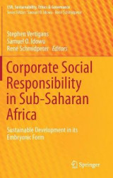 Omslag - Corporate Social Responsibility in Sub-Saharan Africa 2016
