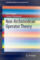 Omslag - Non-Archimedean Operator Theory 2016