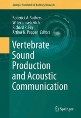 Omslag - Vertebrate Sound Production and Acoustic Communication 2016