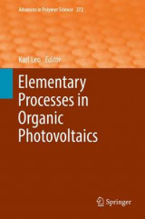 Omslag - Elementary Processes in Organic Photovoltaics 2016